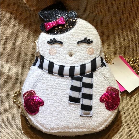 Betsey Johnson Handbags - Betsey johnson crossbody snowgal bag w/tags